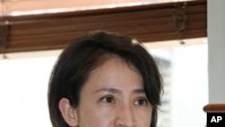 民进党国际事务部主任萧美琴