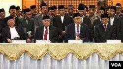 Pemerintah tetapkan awal Syawal 1435 tanggal 28 Juli 2014 (VOA/Fathiyah Wardah)