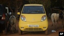Penjualan mobil mini dan murah Nano mengecewakan di India, tapi Tata Motors optimis dengan pasar Amerika (foto: dok).