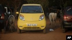 Mobil jenis Tata Nano di India, termasuk kendaraan yang dinyatakan gagal dalam tes kecelakaan yang diselenggarakan oleh NCAP (Foto: dok).