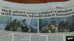 Ish ushtarja izraelite publikon foto me të burgosur palestinezë në Facebook