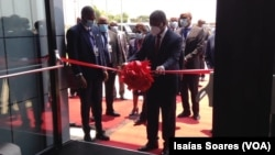 João Lourenço na inauguração do ITA em Malanje