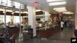 美国大学餐厅