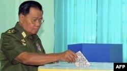 Birmada parlament seçkiləri keçirilib