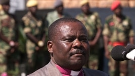 Zimbabwe's excommunicated Anglican Bishop Nolbert Kunonga in 2003 (file photo).