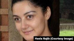 هیله نجیب در ۱۴ سالگی مجبور به ترک افغانستان شد