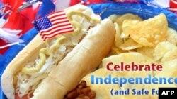 美国重视食品安全 食品安全网的首页照片