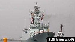 Tàu khu trục Trung Quốc.