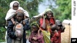 Des déplacés congolais (Archives)