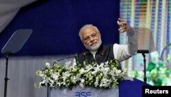 အိႏၵိယ ၀န္ႀကီးခ်ဳပ္ Narendra Modi (Jan. 9, 2017)