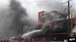 В Техасе горят дома