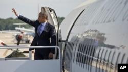 Presiden AS Barack Obama hari Kamis (23/7) melakukan perjalanan ke Afrika (foto: dok).