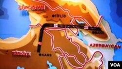 Bakı-Tbilisi-Qars dəmir yolu
