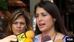 Patricia de Ceballos, esposa del exalcalde detenido sostiene que las medidas de represión se intensifican en su contra.