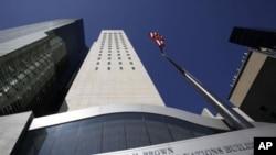 美國和朝鮮代表正在紐約美國駐聯合國辦事處進行會談。