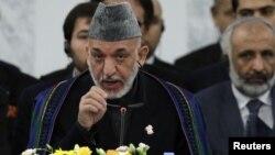 Serokê Afganî Hamid Karzay