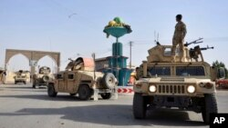 نیروهای امنیتی افغانستان در غزنی