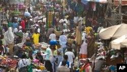 Affluence au Grand Marché de Bamako