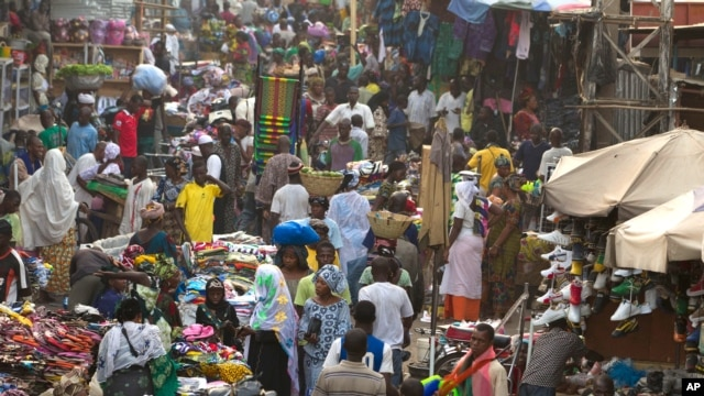 Affluence au Grand Marché de Bamako