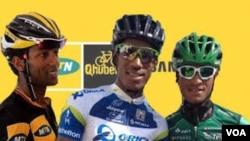 Eritreans heading to Tour De France