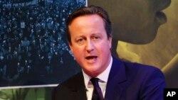 Thủ Tướng Anh David Cameron.