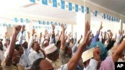 索馬裡議會通過延長任期。