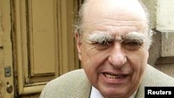El expresidente de Uruguay Julio María Sanguinetti vuleve a buscar la presidencia por tercera vez en las elecciones de octubre próximo.
