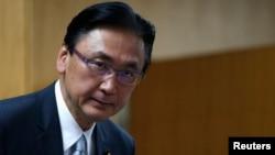 日本執政自民黨眾議院議員古屋圭司資料照。