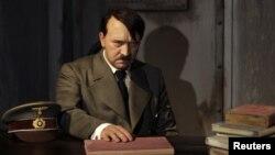 독일 베를린 마담 투소 박물관의 나치 독재자 히틀러 밀랍 인형. (자료사진)