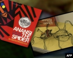 """灵感来自儿童读物的创作""""蜘蛛安纳西"""""""