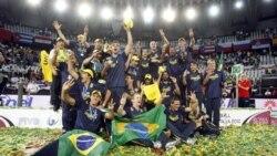 قهرمانی برزیل در والیبال جهان