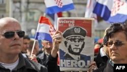 Hırvatlar Uluslararası Savaş Suçları Mahkemesini Protesto Etti