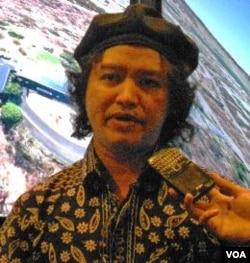 Andrea Hirata, penulis 'Laskar Pelangi'.