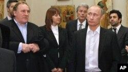 Жерар Депардье и Владимир Путин (Фото из архива)