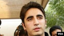 Bilawal Bhutto Zardari, putera Presiden Pakistan Asif Ali Zardari