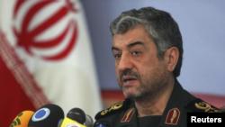 ایرانی فوج کے سربراہ محمد علی جعفری (فائل)