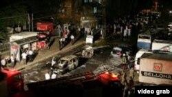 土耳其東南部的爆炸事發地點