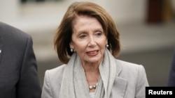 رهبر اکثریت دموکرات و رئیس مجلس نمایندگان آمریکا.