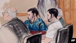Los dos acusados fueron detenidos en Haití y trasladados a Nueva York por agentes de la DEA.
