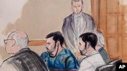 Efraín Campo y Francisco Flores permanecerán detenidos en una cárcel federal en Nueva York.