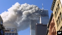 Le World Trade Center au moment des attaques de 2001