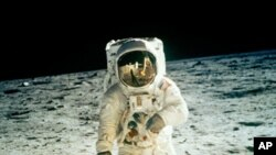 Astronaut Neil Armstrong became the first person to walk on the moon in 1969. Astrophysicist Neil deGrasse says continued space exploration inspires innovation and is vital to the US economy.