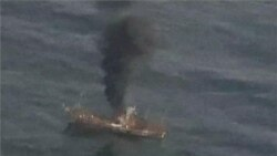 US Coast Guard Sinks Japanese 'Ghost Ship'