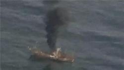 US Coast Guard Sinks Japanese 'Ghost Ship'