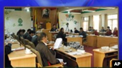 Chithue Speaker Penpa Tsering Talks to VOA