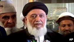 پروفیسر برہان الدین ربانی (فائل فوٹو)