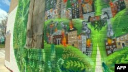 Murali u oronulim četvrtima Baltimora