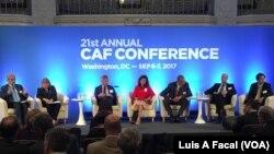 La 21 Conferencia Anual CAF se llevó a cabo en Washington, D.C. con la presencia de más de 1.000 expertos de la región latinoamericana y del mundo.