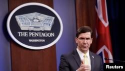 Bộ trưởng Bộ Quốc phòng Hoa Kỳ Mark Esper.