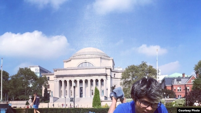 Robinson Sinurat lulusan Columbia University di AS (Dok: Robinson Sinurat)
